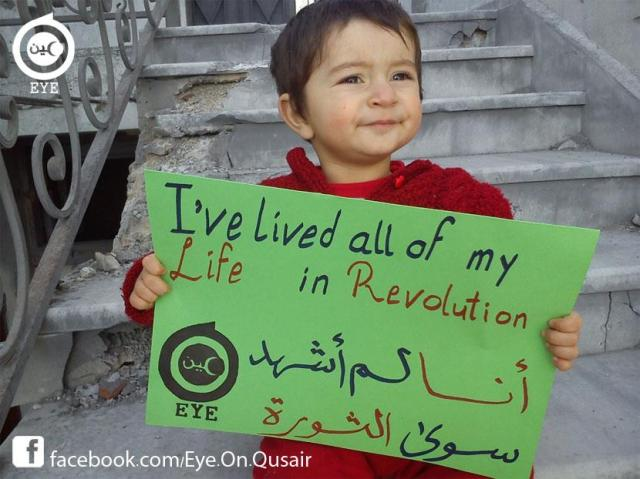 I lived all my life in revolution