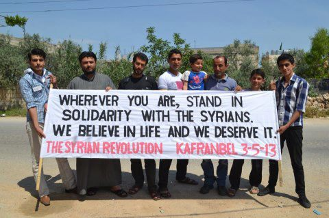 Stand in Solidarity with Syria