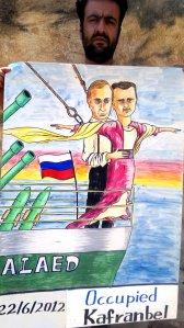 Putin in love with Assad