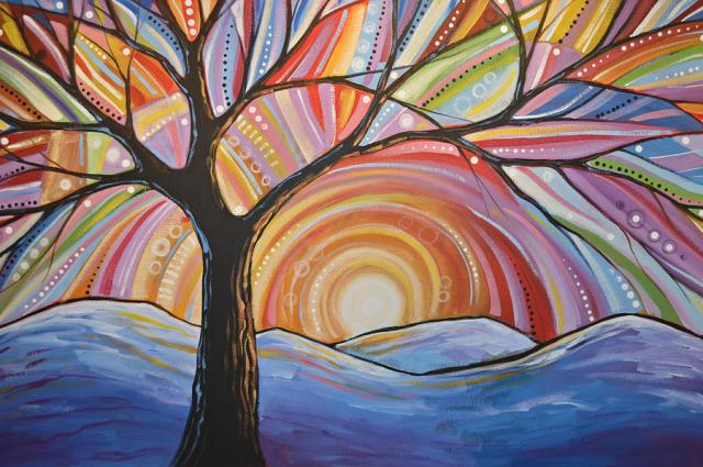 original-abstract-tree-landscape-painting--mountain-majesty-amy-giacomelli
