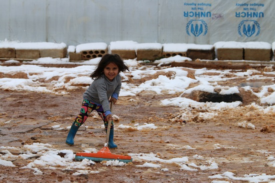 LEBANON-SYRIA-CONFLICT-REFUGEE-WEATHER